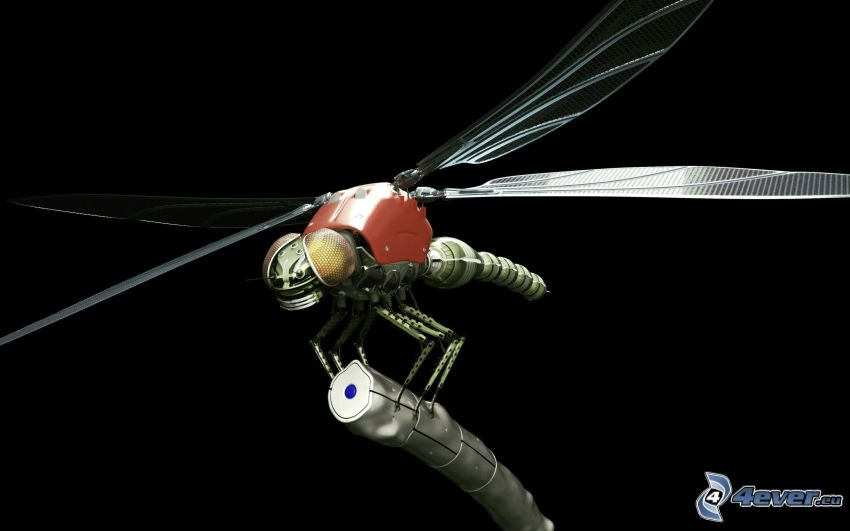 mechanische Fliege