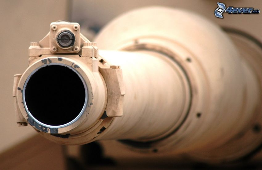 M1 Abrams, Kanone