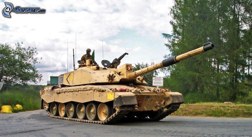 M1 Abrams, Panzer