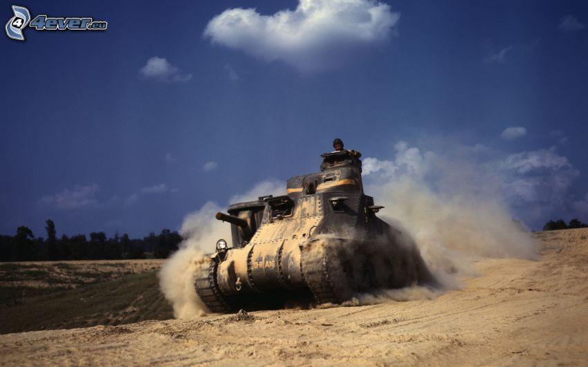M3 Lee, Panzer