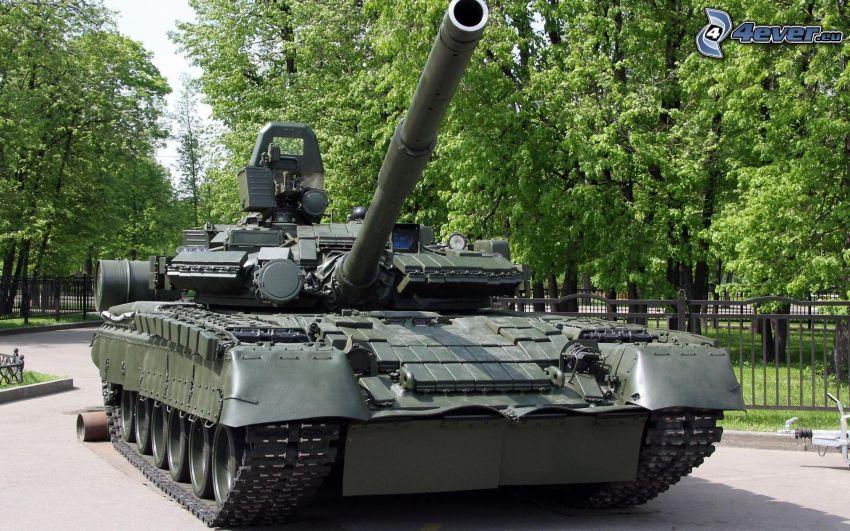 T-80, Panzer