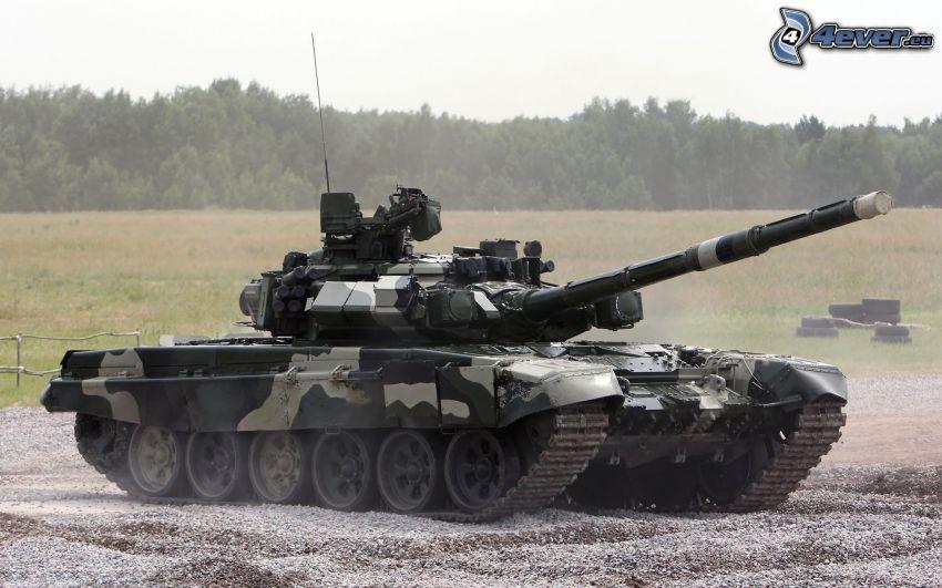 T-90, Panzer