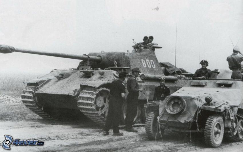 Panzer, Soldaten, Krieg