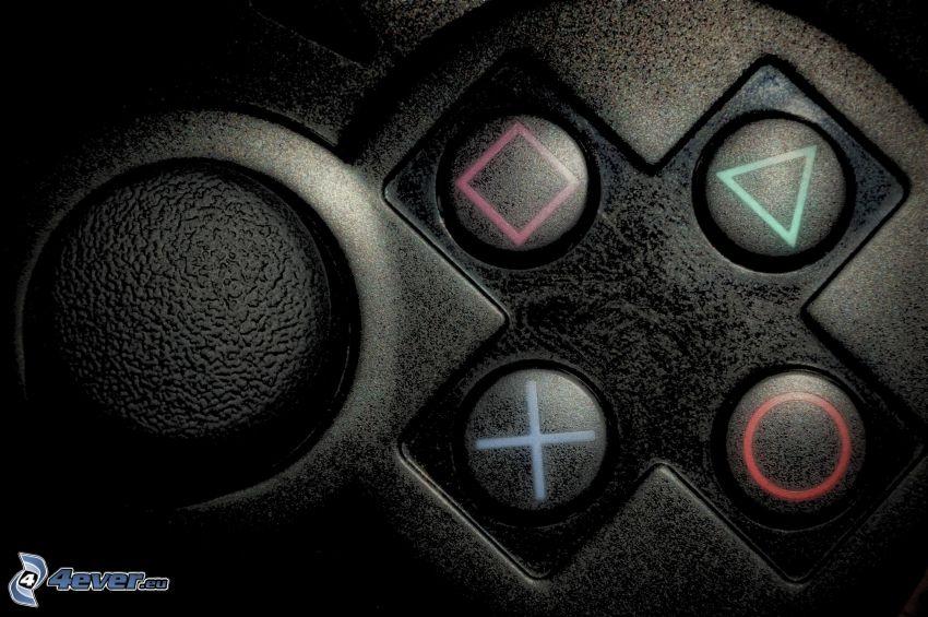 Playstation, Tasten