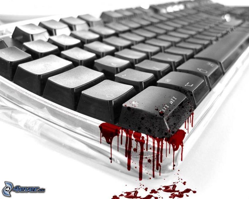 Tastatur, Blut