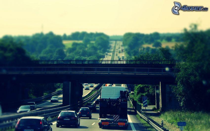 Autobahn, Brücke