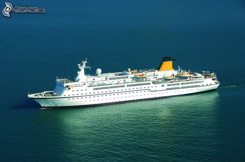 Luxus-Schiff, Meer