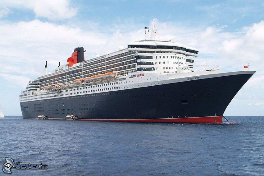 Queen Mary 2, Luxus-Schiff
