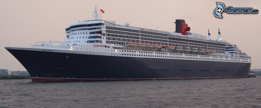 Queen Mary 2, Luxus-Schiff