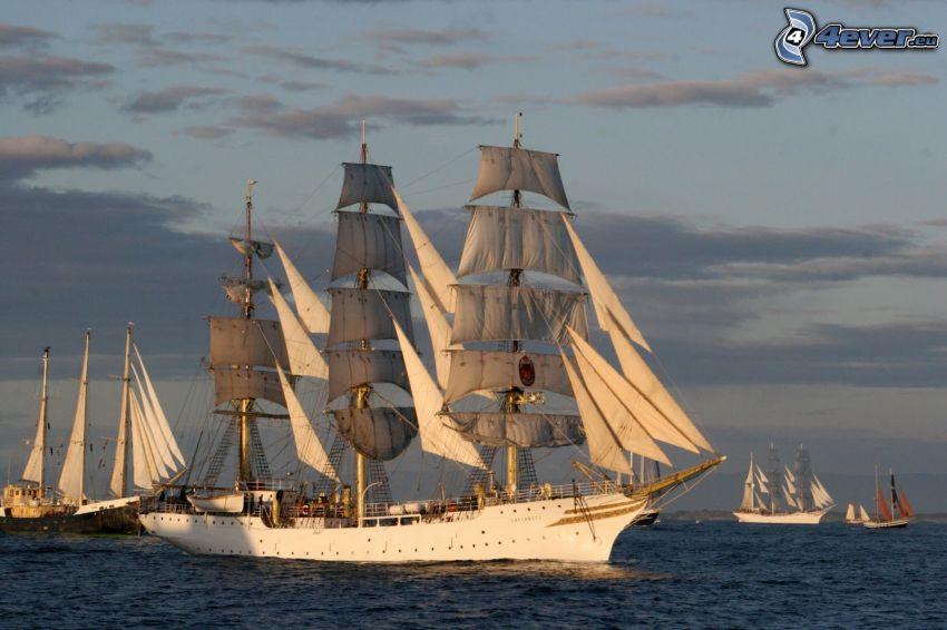 Sørlandet, Segelschiff