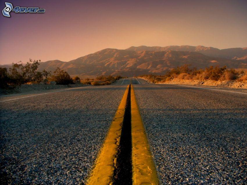 Straße, Berge