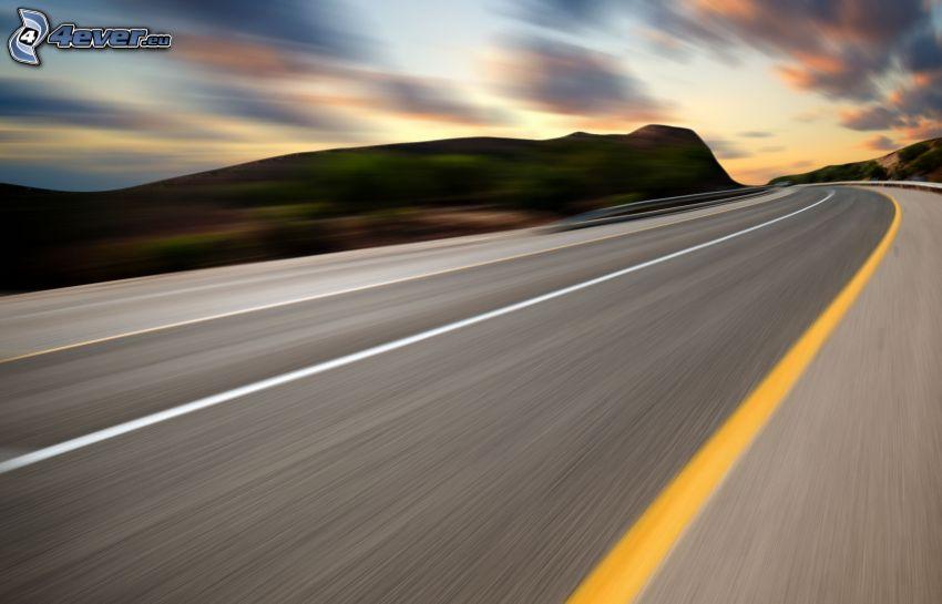Straße, Geschwindigkeit