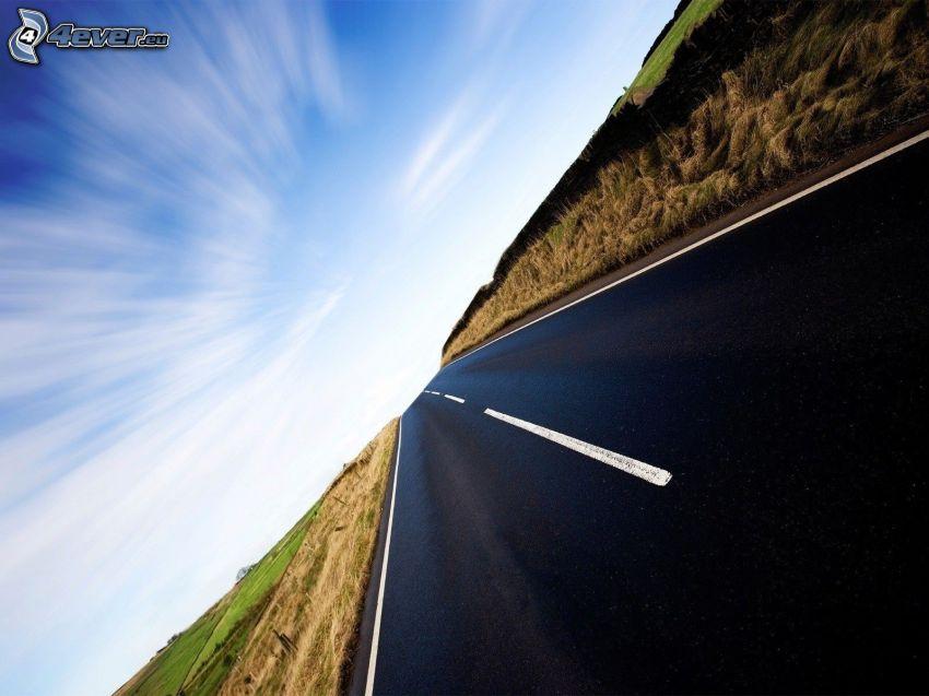 Straße, Himmel