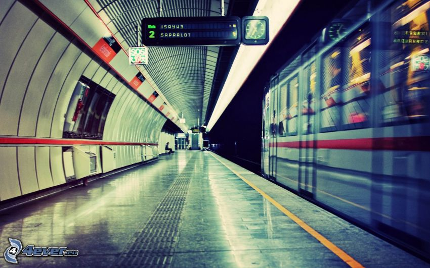 U-Bahnhof, U-Bahn
