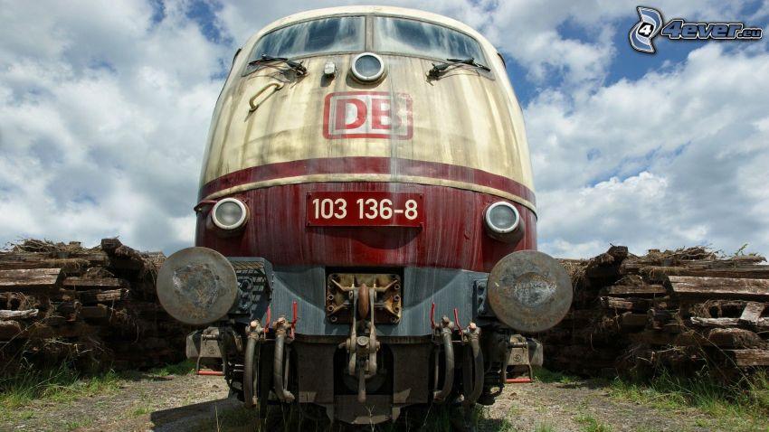 Lokomotive, Wolken