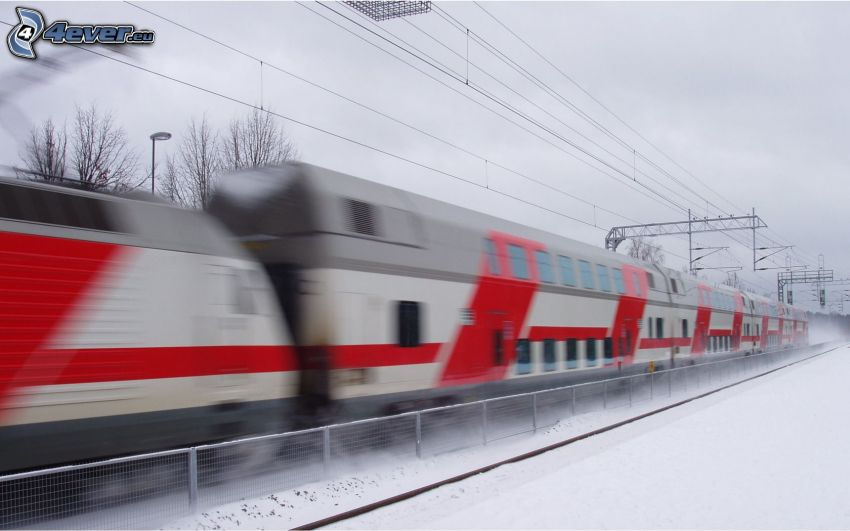 Zug, Geschwindigkeit