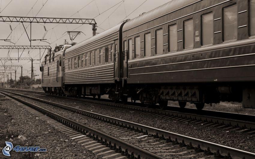 Züge, Schienen, Bahn
