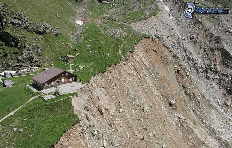 Hütte, Klippe