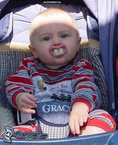 Kind, Zähne