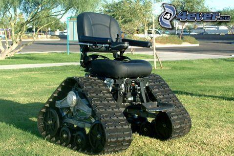 off road, Rollstuhl