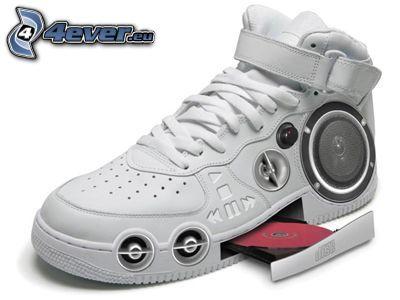 weiße Sneaker, Turnschuhe