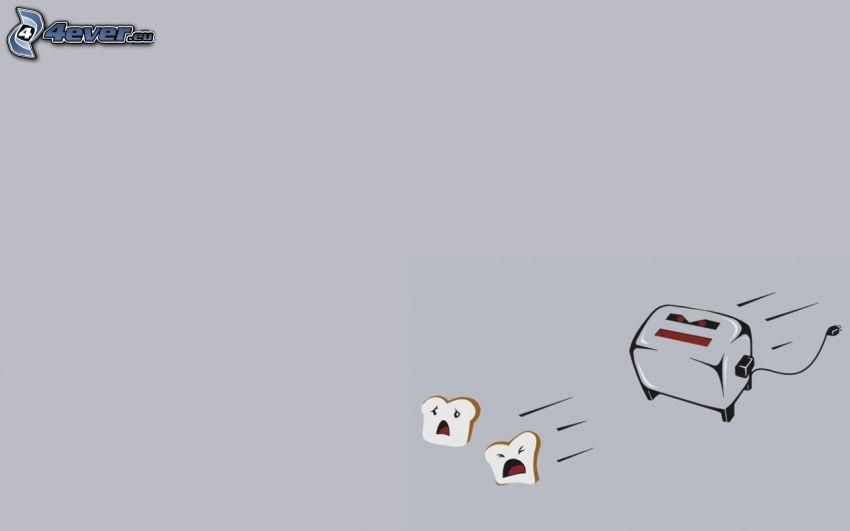Toaster, Toast, Angst