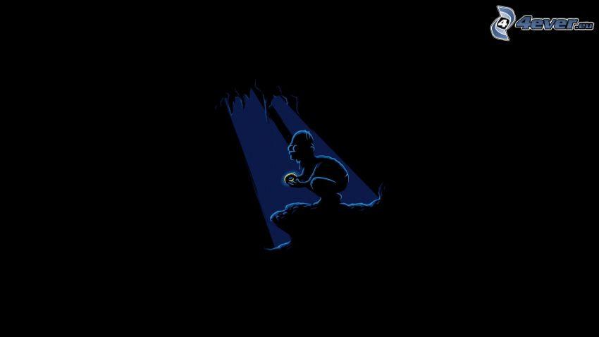 Homer Simpson, Nudel