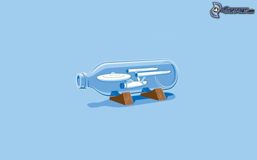 Star Wars, Flasche, Raumschiff