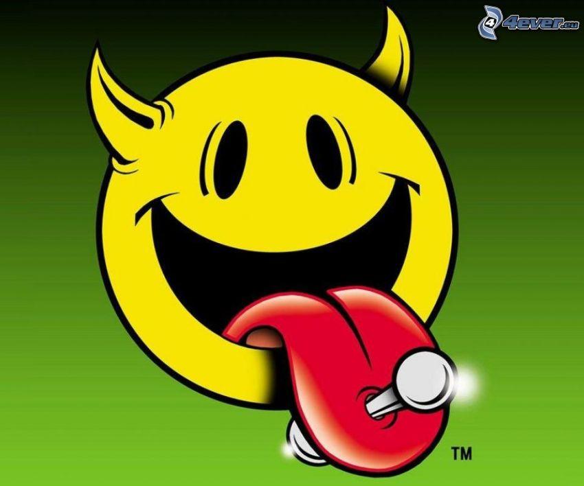Teufel, smileys