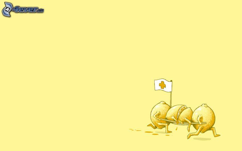Zitronen, Retter