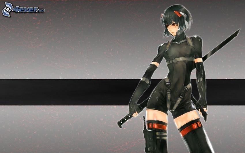 Anime Kriegerin
