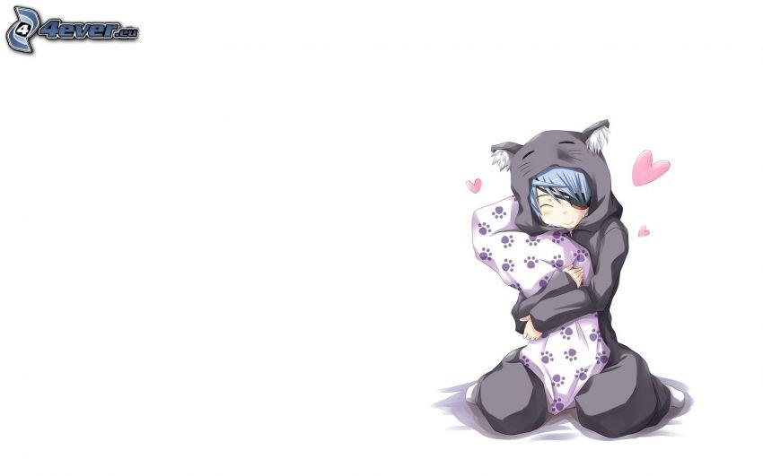 Anime Mädchen, Decke