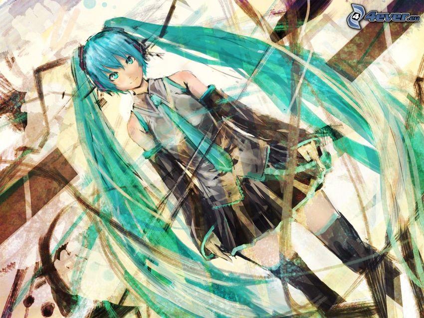 Anime Mädchen
