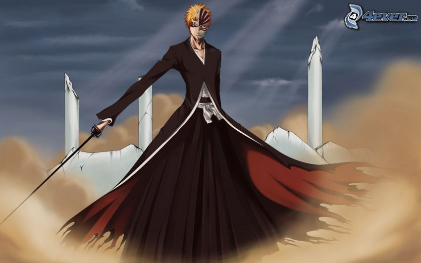 Bleach, Anime Kerl, katana