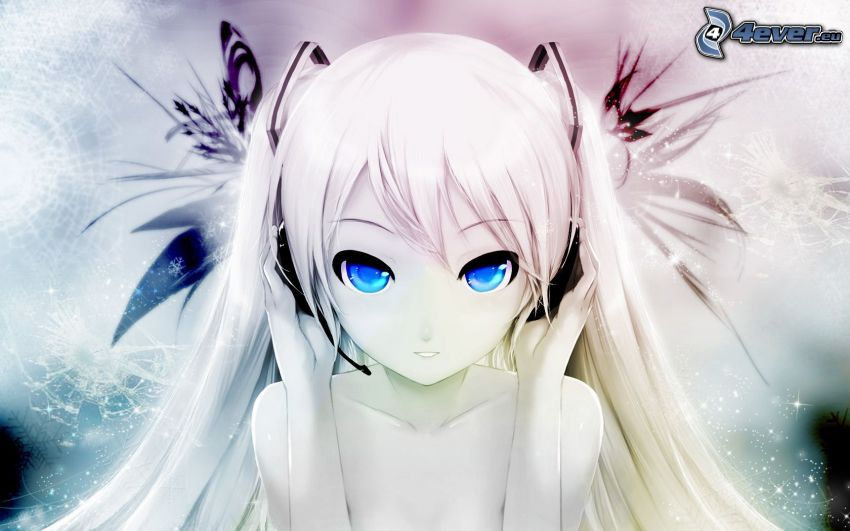Cait Hatsune, Anime Mädchen