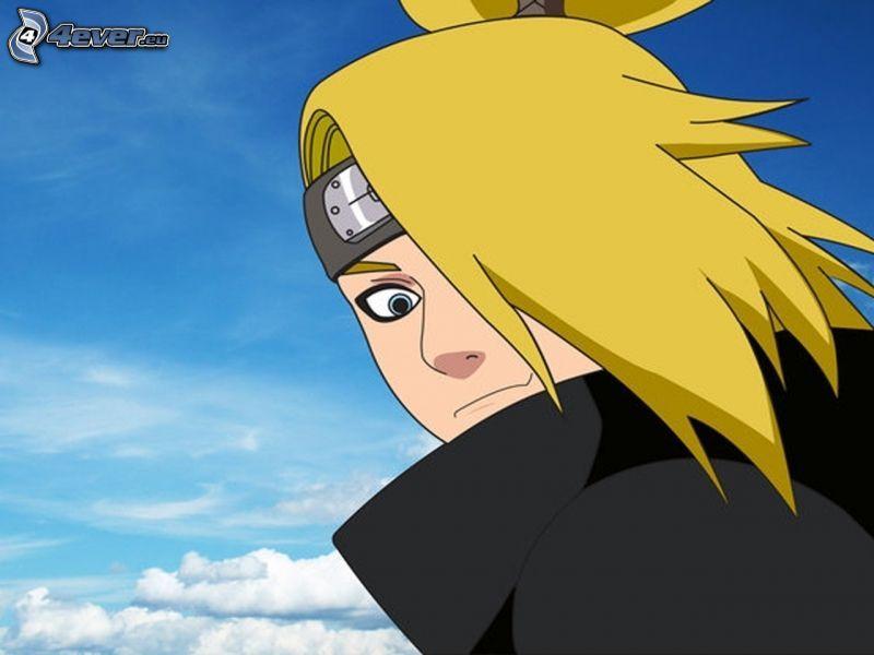 Deidara, Naruto