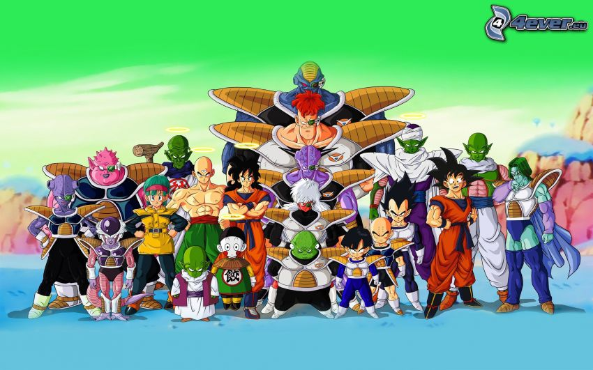 Dragon Ball, Anime-Charaktere