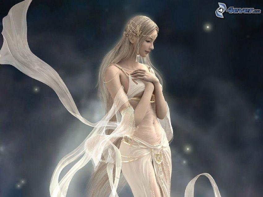Engel, Fantasy Frau