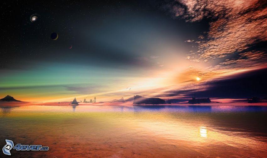 Fantasie-Land, Planeten, See