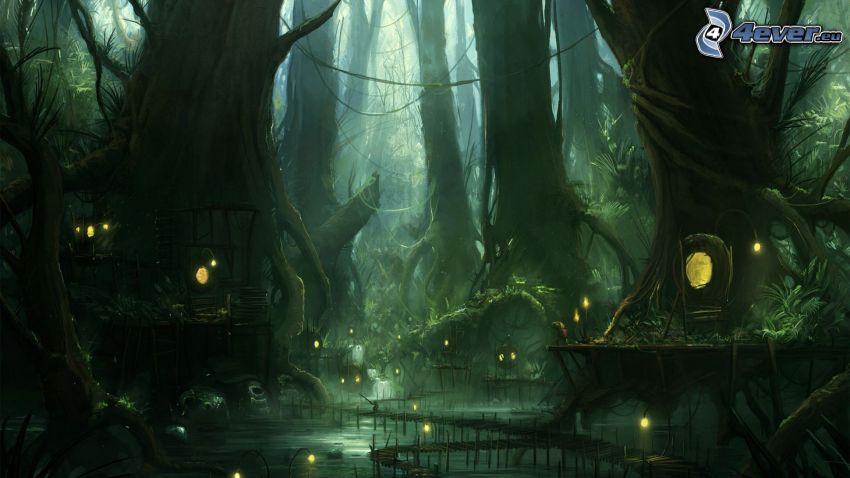 Fantasie-Land, Wald