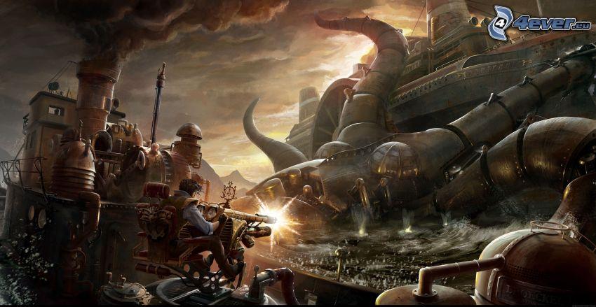 Fantasy, Krieg