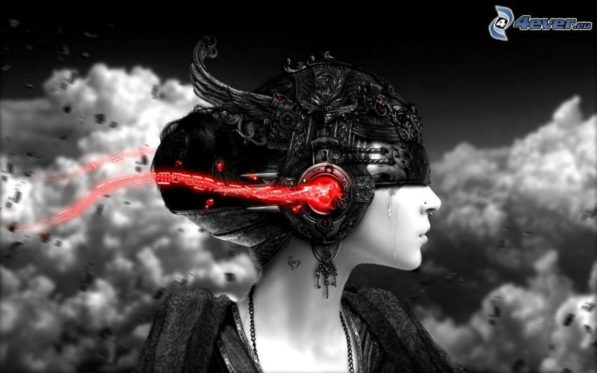 Fantasy Frau, Helm