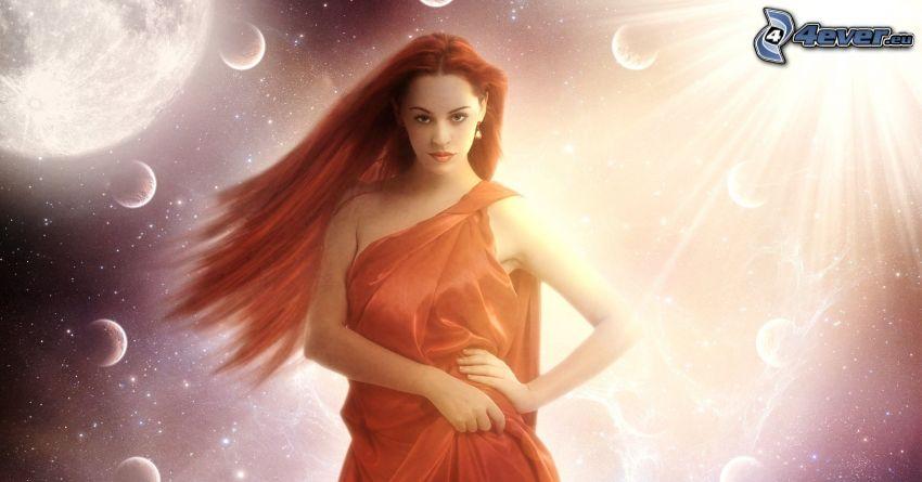 Fantasy Frau, Universum