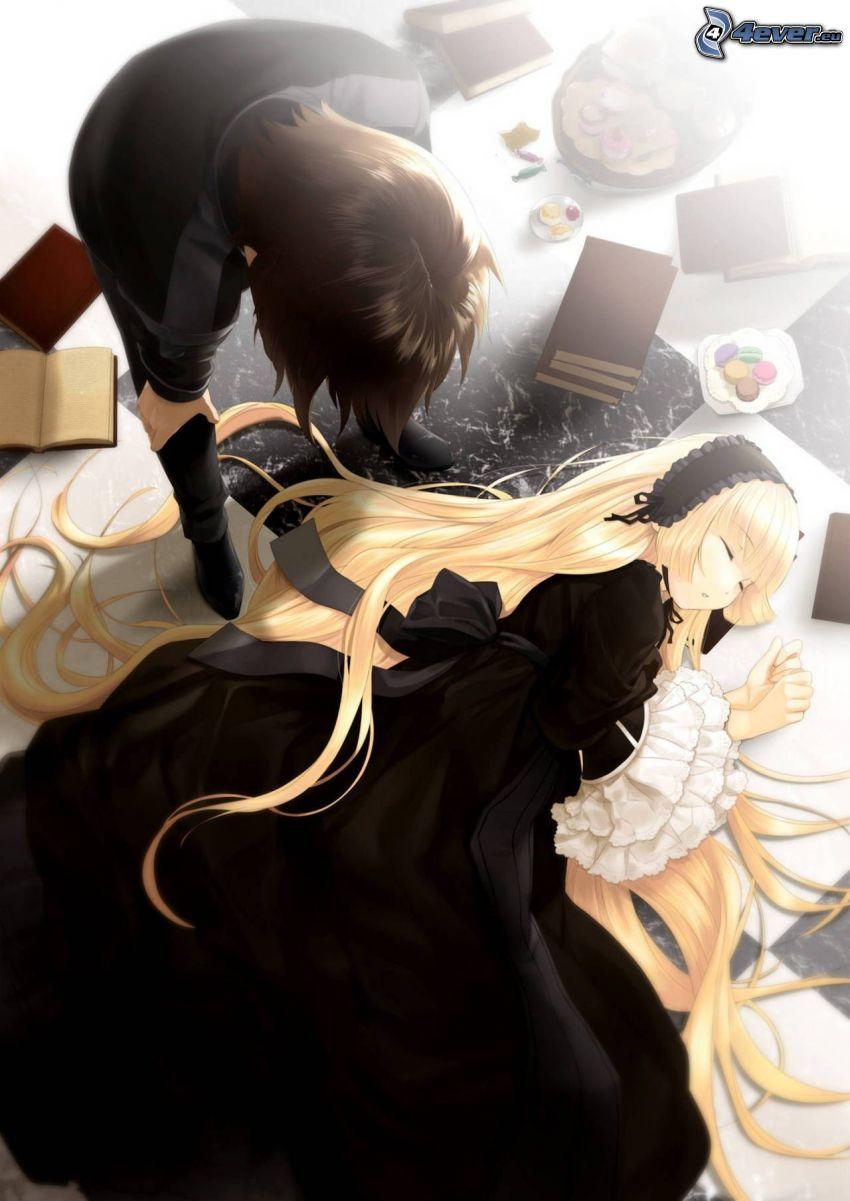 Gosick, Anime-Charaktere, Blondine
