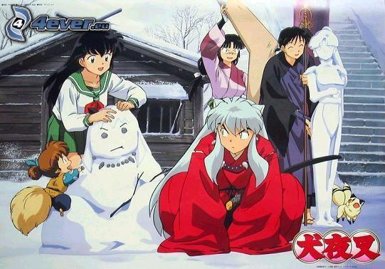 InuYasha, Junge, Samurai, anime, Anime-Charaktere