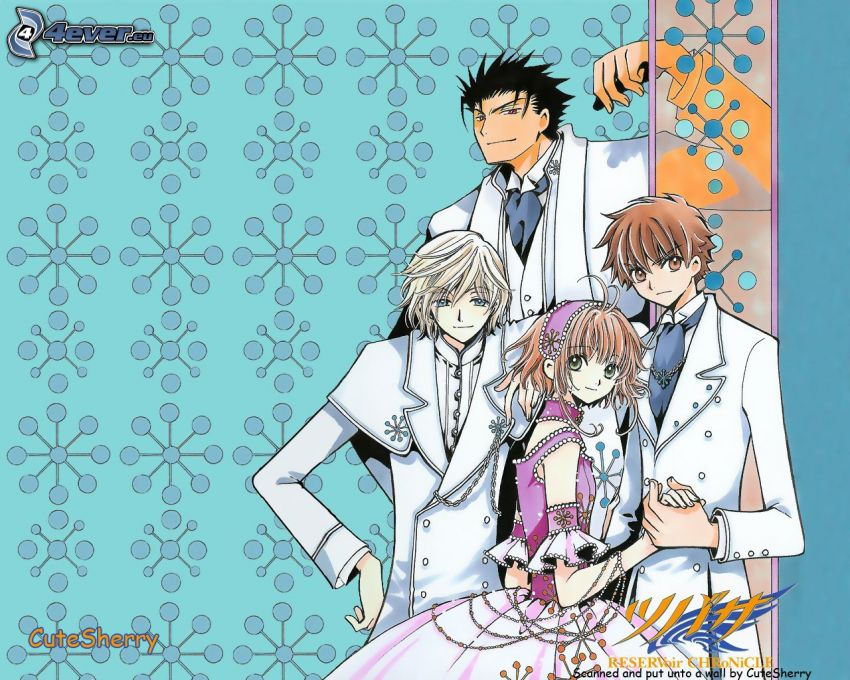 Kurogane, Anime-Charaktere