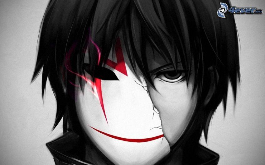 Maske, Anime Kerl