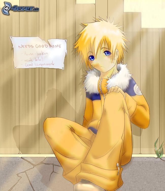 Naruto Kawai, Anime Kerl