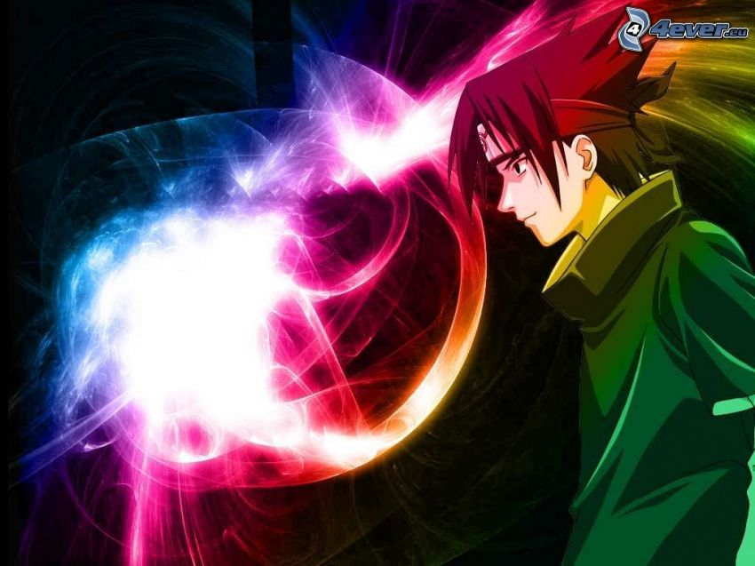 Sasuke, Naruto, Crossover, anime