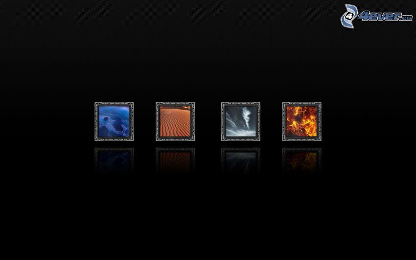 Bilder, Elemente